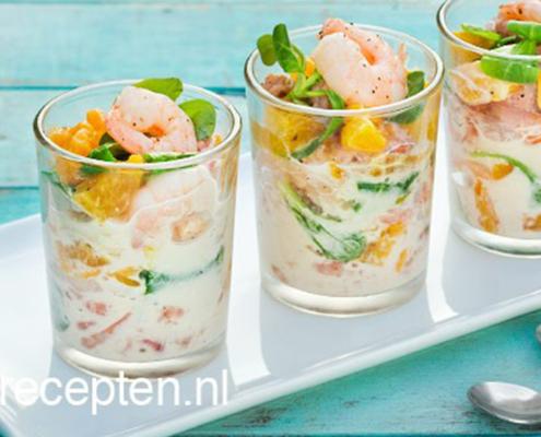 garnalen cocktail visrecepten visgerechten vis recept viswinkel visspeciaalzaak bennekom
